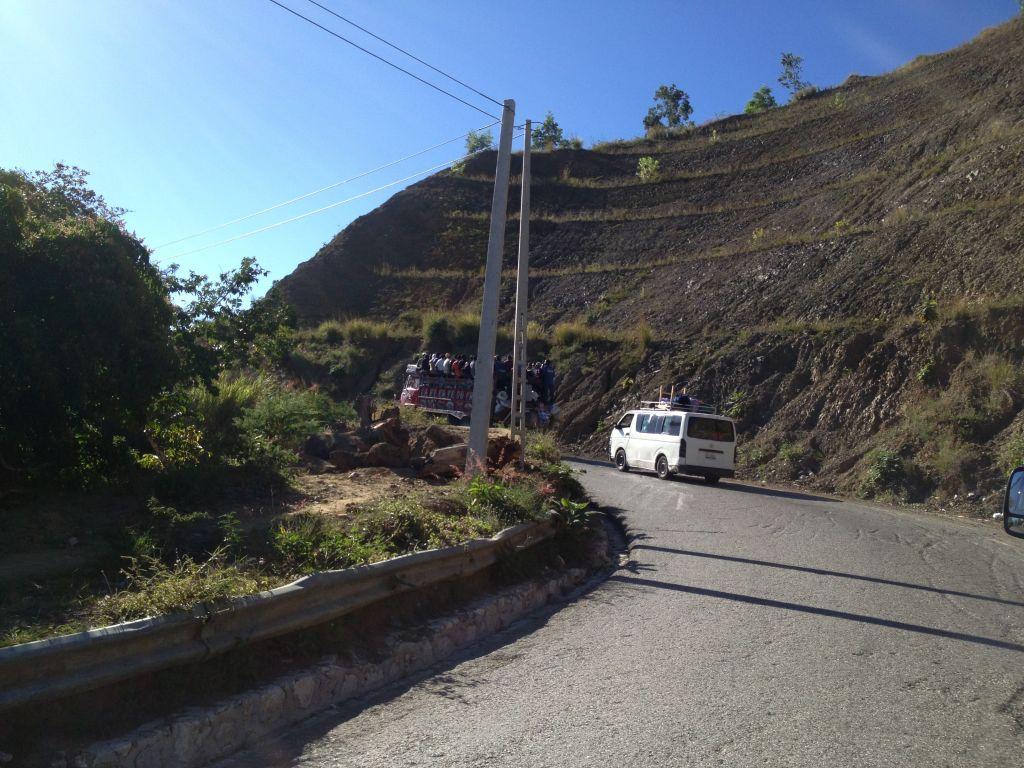 Auf dem Weg nach Jacmel